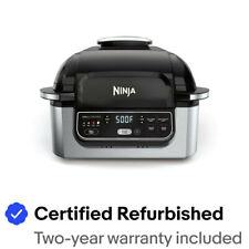 Ninja Foodi 5-in-1 Indoor Grill w/ Air Fry, Roast & More (Certified Refurbished)