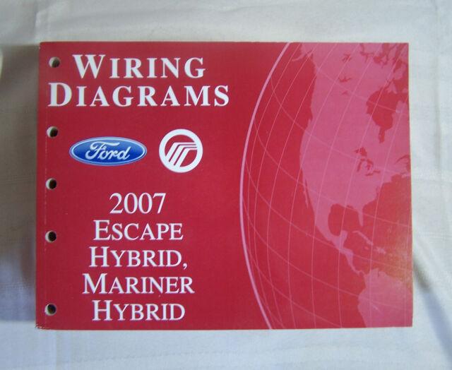 2007 Ford Escape Hybrid Mercury Mariner Hybrid Wiring