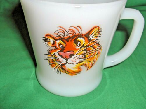 """MUG Details about  /VINTAGE /""""TIGER IN YOUR TANK/"""" COFFEE CUP EXXON OIL /& GAS ENCO ESSO"""