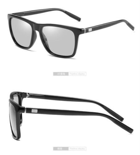 Men Photochromic Polarized Sunglasses Transition Lens Outdoor Driving Glasses