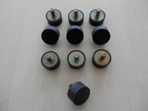Gummipuffer Silentblock  Typ A  M8   Ø 30 H 15 Silent Block Bloc