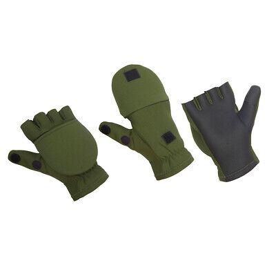 Neopren Handschuhe York Camou Thermo Angler-Handschuhe Angelhandschuhe