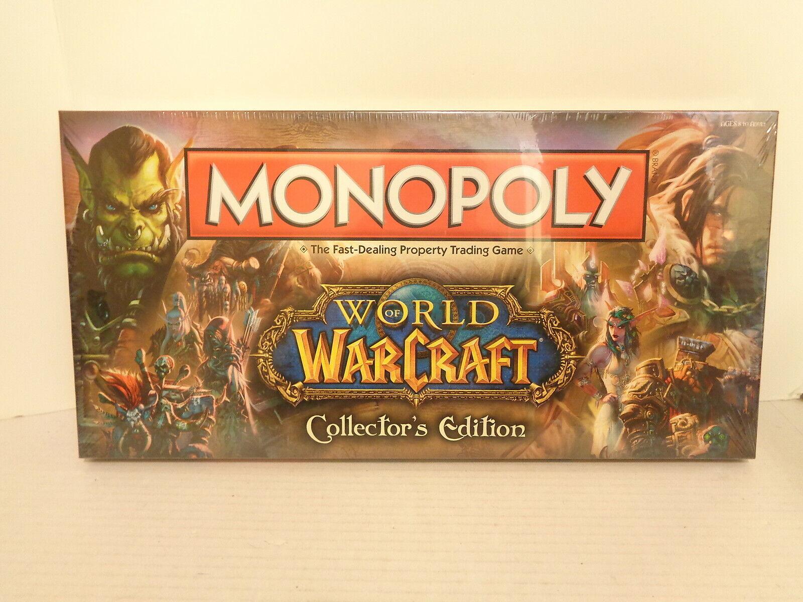 2012 Hasbro Monopoly World Of Warcraft Edición de Coleccionista Juego Mesa Mip