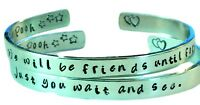 Personalized Winnie The Pooh Quote Bracelets - Friendship Bracelets -