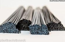 PP/EPDM Plastic welding rods kit car bumpers repairs 40 pcs (mix black) PP+EPDM