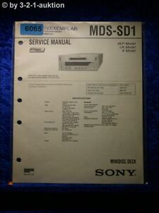 Sony-Service-Manual-MDS-SD1-Mini-Disc-Deck-6065