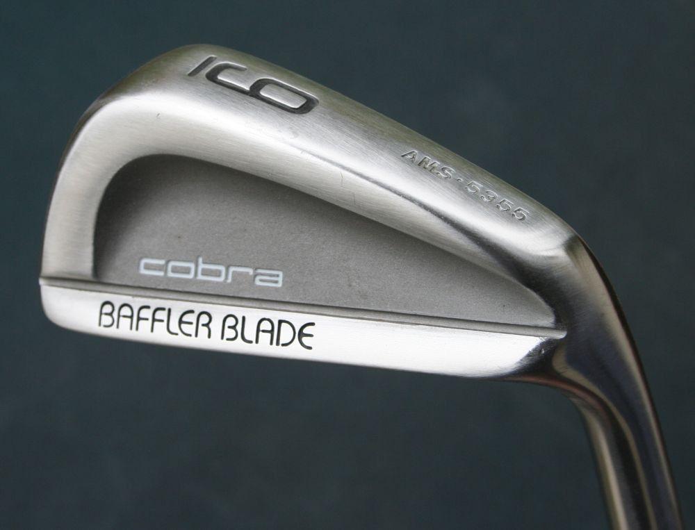 Cobra Baffler Blade 9 Iron LiCon Firm Graphite Shaft