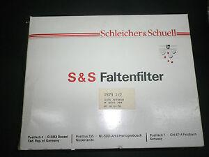 100-Piece-Filtre-Plisse-Mouchard-amp-Schull-500-mm-Filtre-N-1573-1-2-Propre