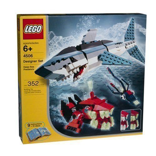Skapare av Lego Djuphavsrovfåglar Ny tät HTF