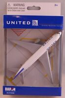 NEW United Airlines 777 airplane toy plane RT6266
