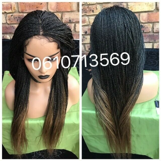EXTRA LENGTH LACE FRONT TWIST WIG