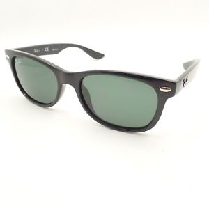 c7252d503d715 Ray Ban Kids Wayfarer 9052 100 71 Shiny Black Green New Authentic ...
