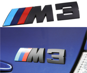BMW ORIGNAL M3 TRUNK LID BOOT LOGO EMBLEM BADGE NEW E39 E34 E60 E61 E28 Strong