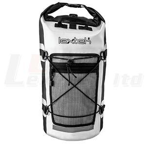Image is loading Lextek-Waterproof-Drybag-Backpack-30-Litre-Motorcycle-Bike- faccf4ae70b85