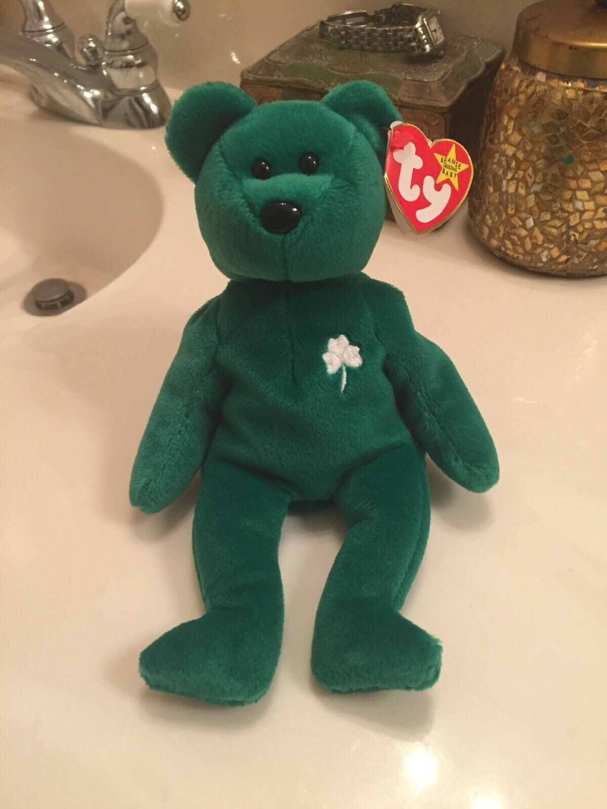 d86ab8dc78d Erin Beanie Baby ( Ultra Rare ) (MINT Condition) ( Retired ) ( Ty ...