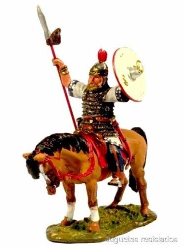 CBH082 VISIGOTHIC CAVALRYMAN IBERIA  Figura soldado plomo metal DelPrado