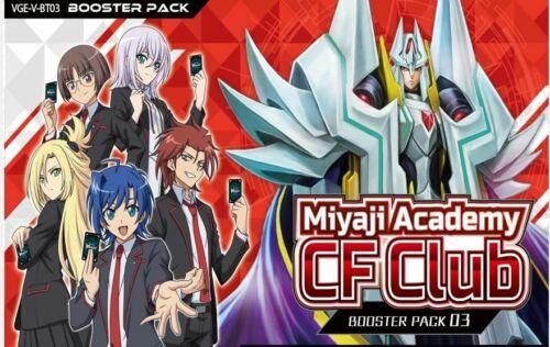 Cardfight Vanguard Miyaji Academy V-BT03 Narukami Lot x4 R/'s and C/'s