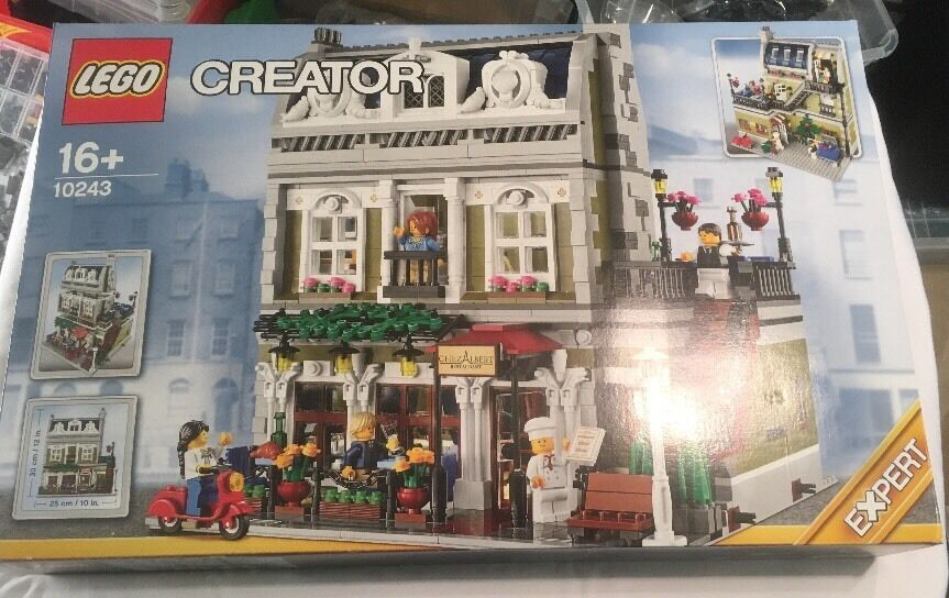 Lego Modular Building Parisian Restaurant Set 10243 From 2014  Brand New