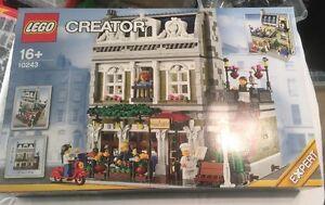 Restaurant parisien Lego Modular Building situé 10243 à partir de 2014 ** Tout neuf