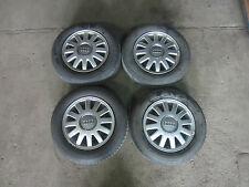 4x Alufelgen 20x radschraube 8l0601025 6jx15h2 et38 195/65 r15 91H Audi A3 8L