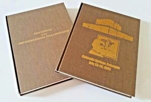 RARE Proceedings of the Intl Nikola Tesla Symposiums 1990 and 1992 Book Set