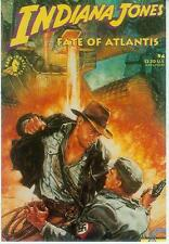 Dave Dorman Postcard: Indiana Jones - Fate of Atlantis # 4 cover (USA, 1992)