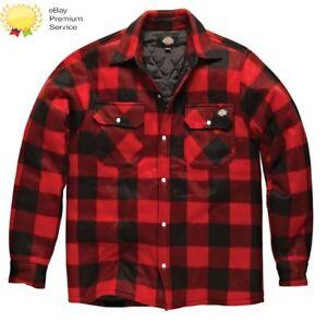 Portland Padded Shirt Mens Size Work Dickies Sh5000 S xxxl Workwear Red Casual HxSSwf5qC
