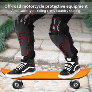 Sicurezza-Ginocchiere-Protezioni-Gomiti-Ginocchia-Moto-Motocross-MTB-Bici-Sport
