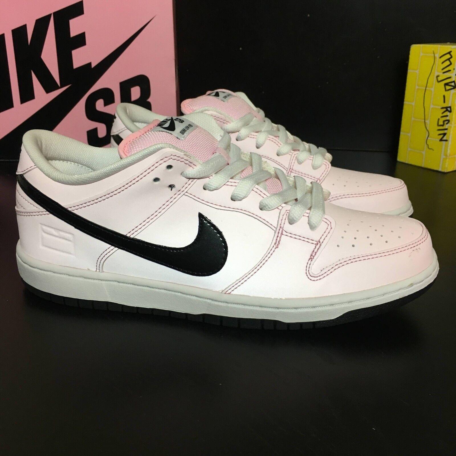finest selection 2bec4 fab87 Nueva Nike SB Dunk bajas Elite 3M caja caja caja rosa Prism Rosa hombres  cómodos el