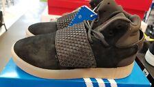 best service 055a0 2bb7c adidas Originals Tubular Invader Strap Shoes Kids BlackGum BA9364,Size  12K, NWT