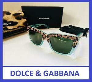 42c5aab513c7 NEW DOLCE & GABBANA $400 CAT EYE LEOPARD PRINT DG4189A SUNGLASSES W ...