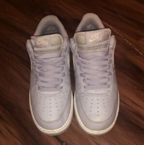 Nike Air Force 1 AF1 One Low Wolf Grey White 820266-004 New Men s ... a7524b93bc