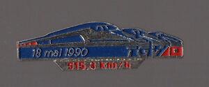 Pin-039-s-SNCF-record-de-vitesse-du-TGV-515-3-km-h-le-18-mai-1990
