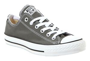 Converse-Chuck-Taylor-Low-Tops-Charcoal-OX-Mens-Sneakers-Tennis-Shoes-1J794