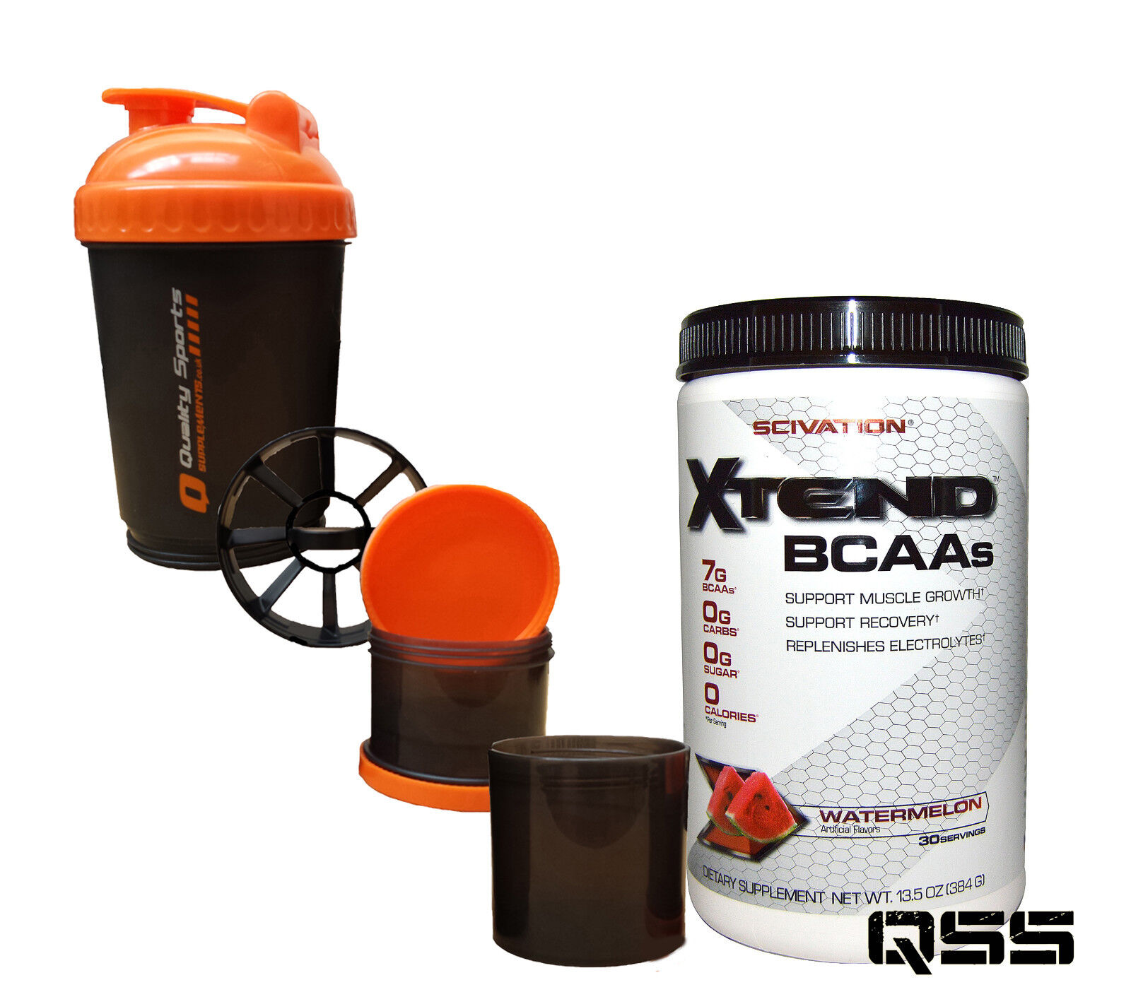 SCIVATION XTEND 30 SERVINGS BUILD LEAN MUCLE BURN FAT RECOVERY PUMP + SMART SHK