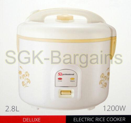 2.8L//16 TAZZE FORNELLO ELETTRICO DI RISO PENTOLA più caldi antiaderente cucinare il riso automatico PRO