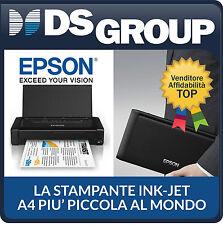 STAMPANTE PORTATILE EPSON WORK FORCE WF-100W A4 WI-FI NUOVA ITALIA C11CE05402