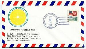 100% De Qualité 1989 Standard Missile Two Surface Air Missile Solid Propellant Explosive Nasa Us