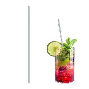 21cm-Metal-Stainless-Steel-Straw-Drinking-Mixing-Cocktail-Eco-Friendly-Reusable