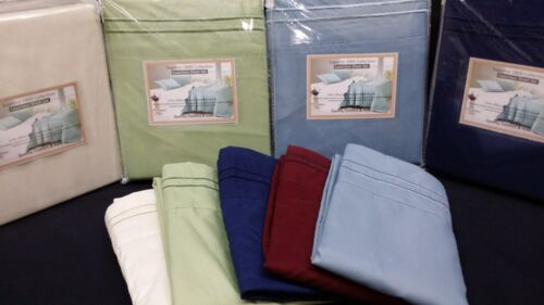 super soft embroidery 4pc E King Sheet set 1800 Series Deep Pocket set