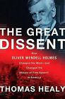 The Great Dissent: How Oliver Wendell Holmes Changed His Mind--And Changed the History of Free Speech in America by Thomas Healy (Hardback, 2013)