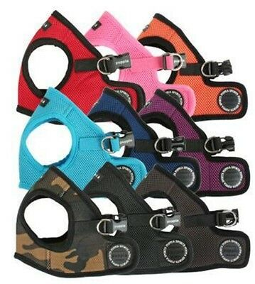 Puppia Dog Harness Step In Mesh Vest  - All Colors & Sizes - Small to Med Breeds