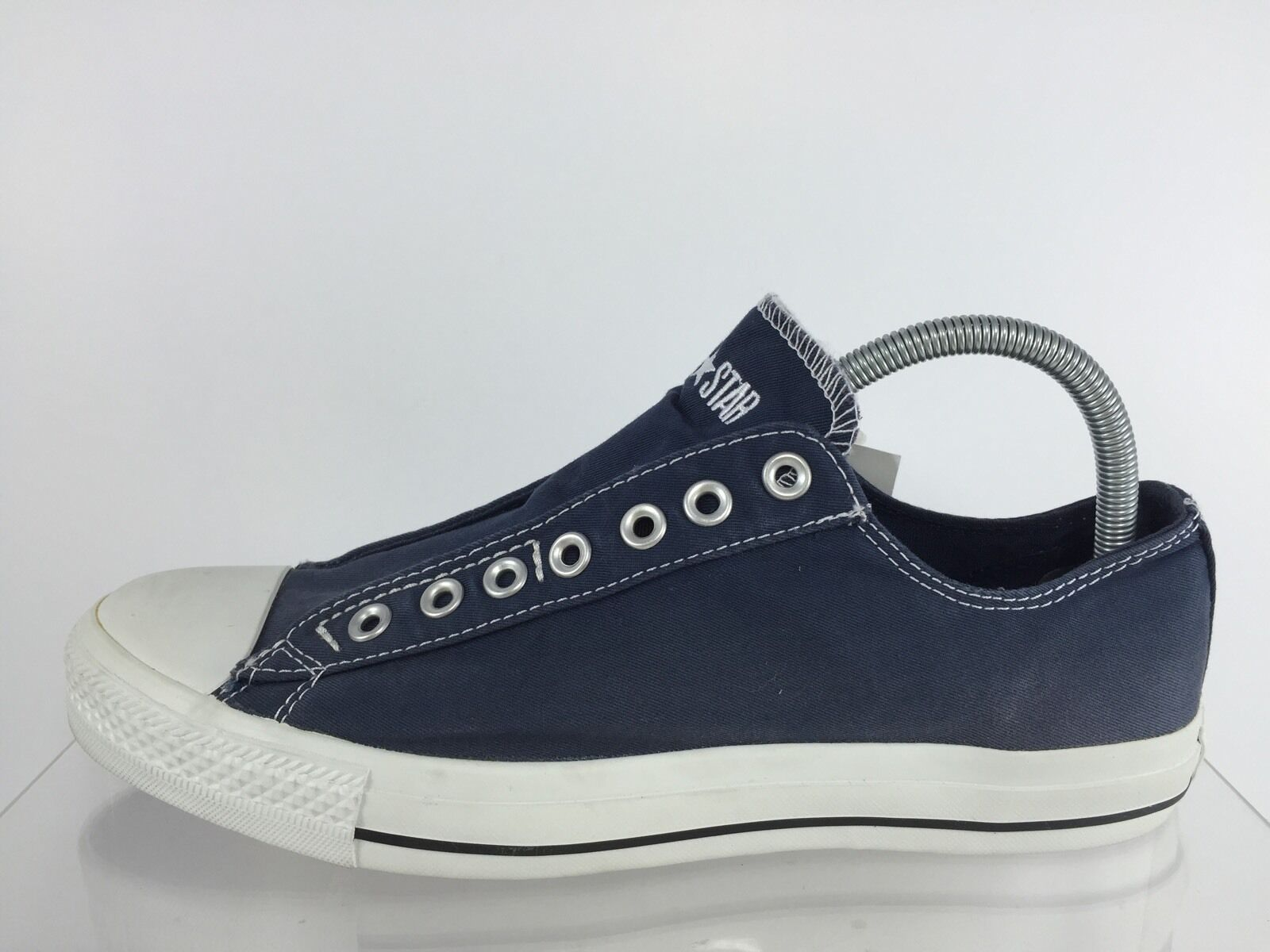 Converse Mens Mens Converse Navy Blue Shoes 9.5 e9ee6d