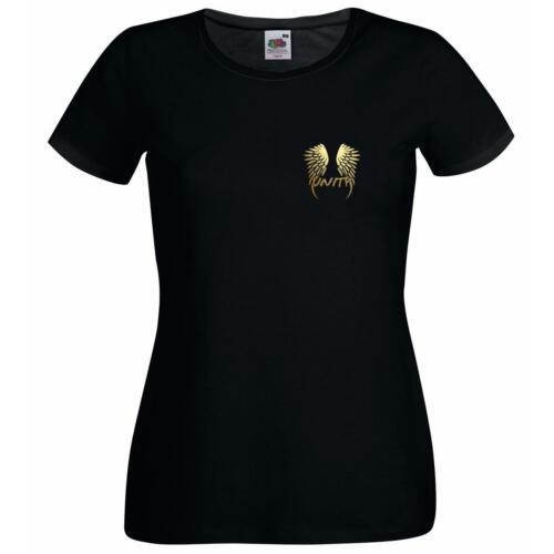 Mesdames Unité ailes d/'ange ensemble dans la communauté de Charité T-Shirt