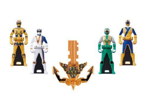 NEW Ranger Key Series Set No 05 Bandai Kaizoku Sentai Gokaiger F/S