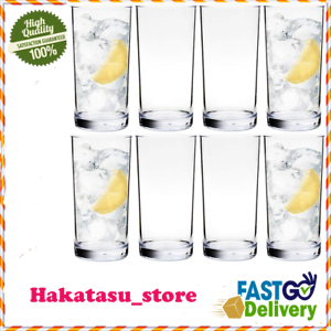 Everyday-Drinking-Glasses-Durable-Large-Thick-Tumblers-Drinkware-16-Oz-Set-Of-8