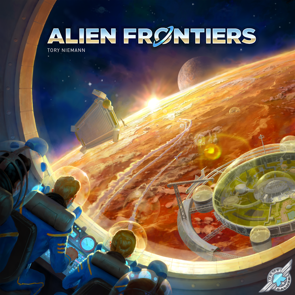 Alien Frontiers - 5th Edition - Board Game - Factory Sealed - Free Shipping