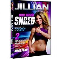 Jillian Michaels One Week Shred, New, Free Shipping on sale
