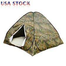 Portable Camouflage Pop Up C&ing Hiking Automatic Instant Tent 3-4 Person Camo  sc 1 st  eBay & Portable Camouflage Camo Family Easy Setup Pop up Camping Hiking ...