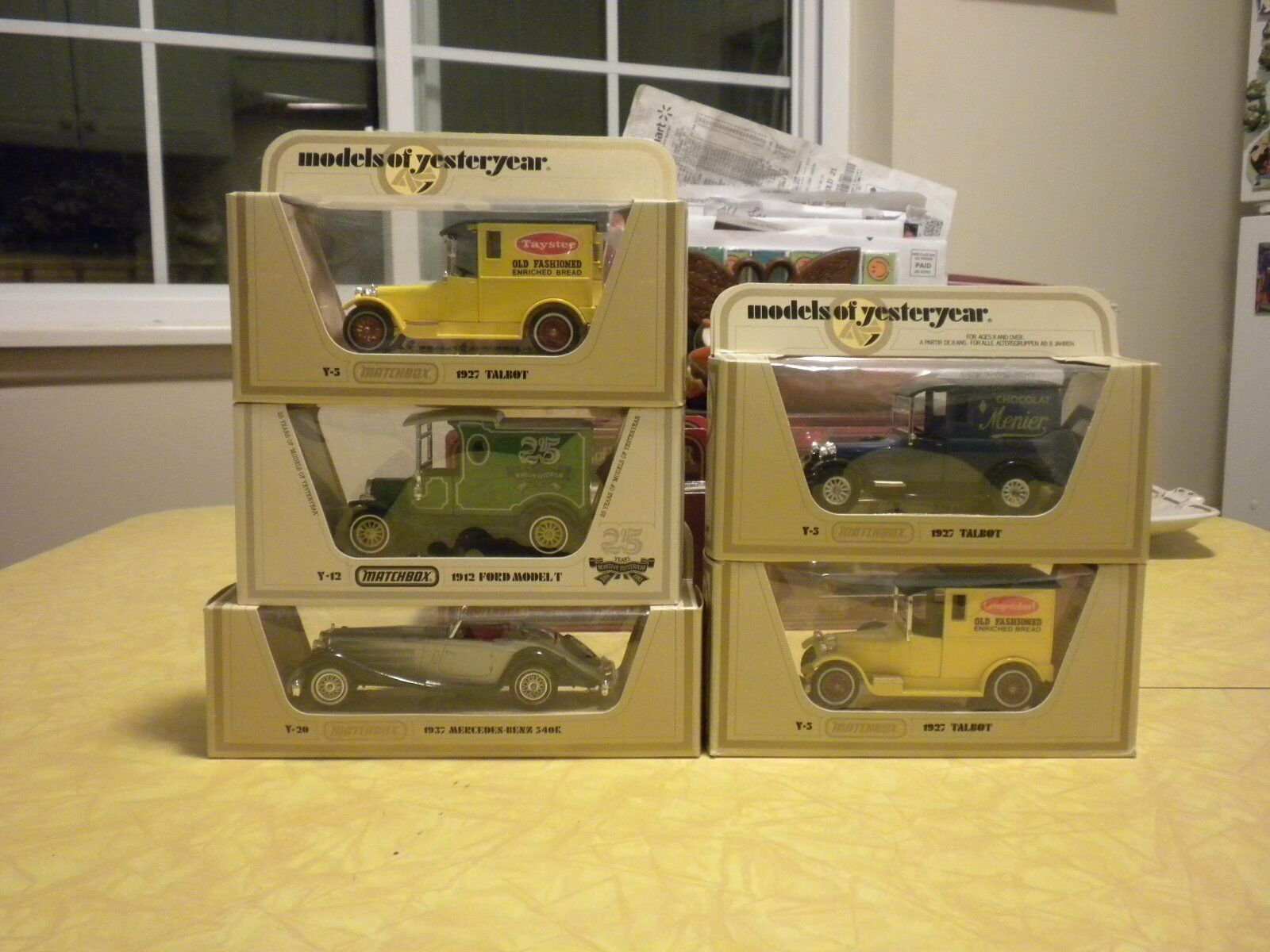 BRAND NEW (NOS) MODELS OF YESTERYEAR LOT LOT LOT OF (9) VEHICLES MINT IN THE BOXES ddec0d